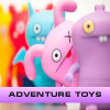 Adventure toys. Find objects