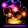 Ð¡olored bubbles