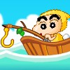 Crayon Shinchan Fishing